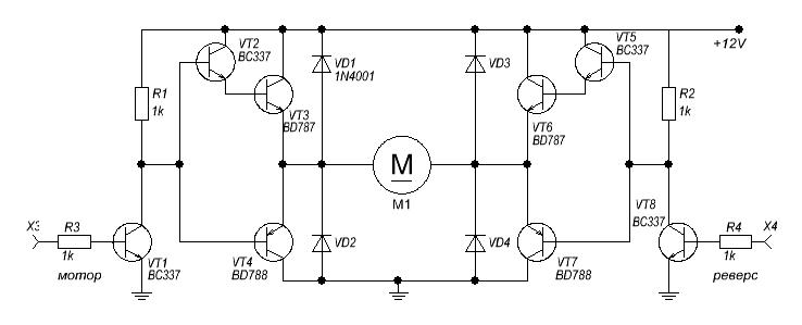 транзисторный мост